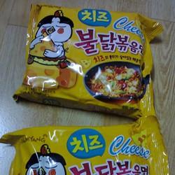 Combo 5 gói mì cay phô mai Samyang - Hàn Quốc