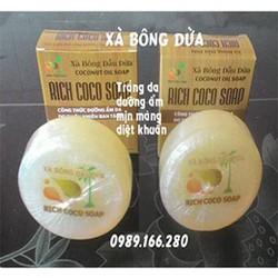 Xà phòng dừa thiên nhiên -xà bông dừa