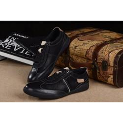 Giày thời trang nam kiểu dáng mới hợp thời trang 2016 màu đen