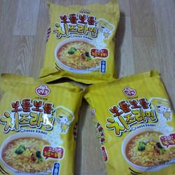 Combo 5 gói Mì nước phô mai Ottogi - Hàn Quốc