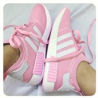 Giày Adidas. NMD Hồng F1
