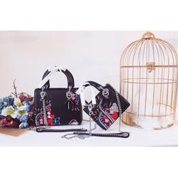 Túi xách Dior Heart size 26 hàng chuẩn auth fullbox