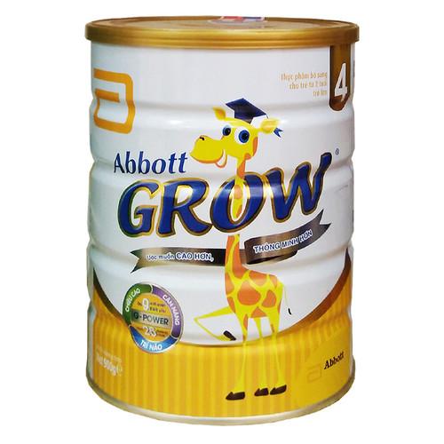 Sữa abbott grow 4 900g