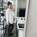 Áo somi nữ dáng dài cực đẹp Long Shirt