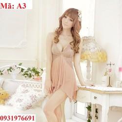 Váy ngủ sexy Hàn Quốc  - A3