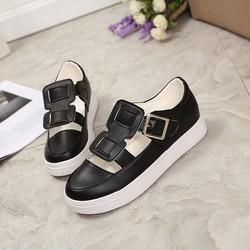 Giày Sandal nữ retro phong cách thời trang Hàn Quốc - SG0306