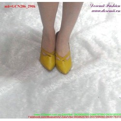 Giày cao gót thiết kế xinh xắn độc đáo GCN286
