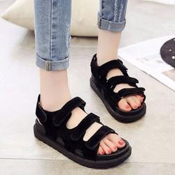 Giày Sandal nữ quai ngang cá tính thời trang Hàn Quốc - XS0311