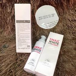 Kem dưỡng da chống nắng Snail White Sunscreen SPF 70