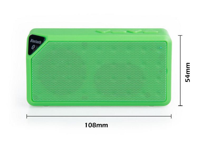 Loa Bluetooth X3 dùng cho điện thoại, máy tính 7