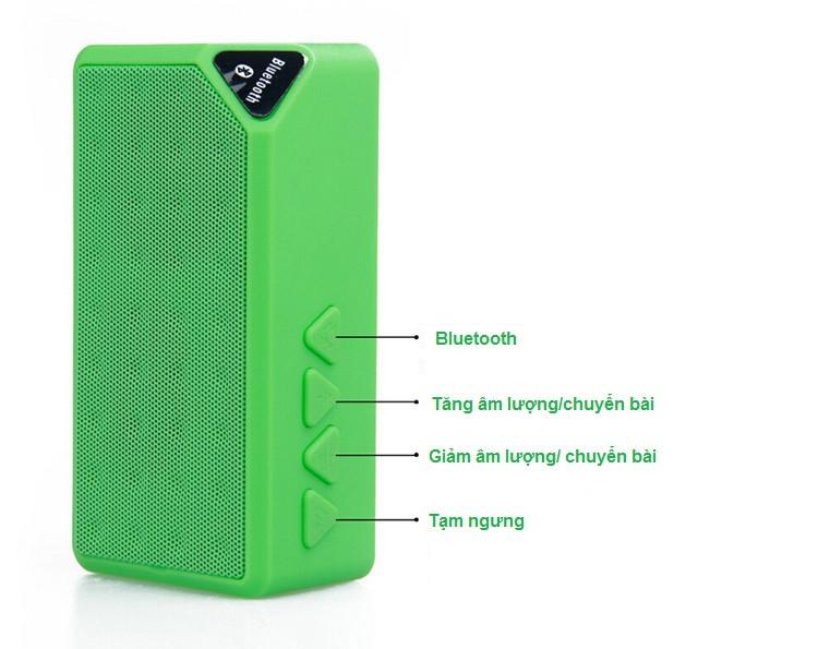 Loa Bluetooth X3 dùng cho điện thoại, máy tính 8