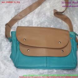 Túi đeo đi học đi chơi 2 nấp đậy độc đáo sành điệu TDHDC39