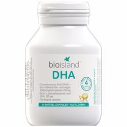 DHA Bio Island Úc 60 viên, bổ sung phát triển não bộ