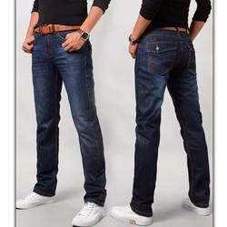 Quần jeans nam ống suông cao cấp-QJ19