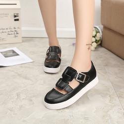 Giày Sandal nữ Retro kiểu dáng thời trang phong cách Hàn Quốc - XS0312
