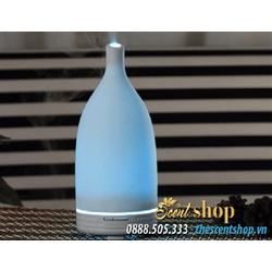 Máy khuếch tán tinh dầu siêu âm gốm Ceramic đổi màu đầu dài