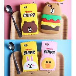 Ốp dẻo thú nổi kẹo Chip hồng 5.5s 6.6plus