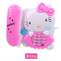 Điện thoại đồ chơi kitty cho bé