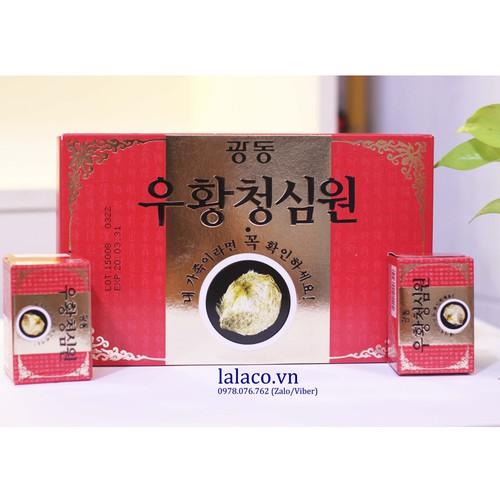 An cung ngưu hoàng hoàn Hàn Quốc hàng nội địa hộp đỏ