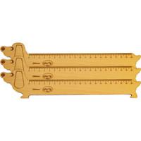 Thước gỗ chó 200mm bộ 3 thước