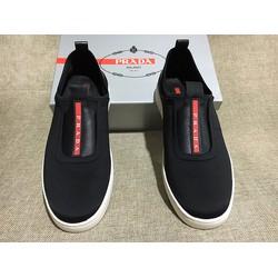 Giày nam New chất liệu da lộn thương hiệu ecco