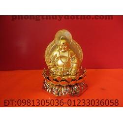 Phật Di lặc 2 mặt  để xe ô tô 10 x 8 cm - Đồ phong thủy