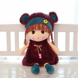 Búp bê vải màu tím dễ thương cho bé 60cm