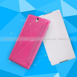 Bao da Sony Xperia C5 Ultra Nillkin Sparkle chính hãng