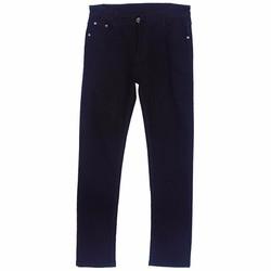 Quần Giả Jeans Dài Ống Xuông Nam Màu Đen QUAN NAM 022 B
