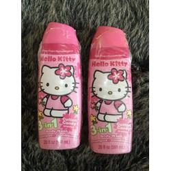 Sữa tắm gội xả 3 trong 1 Hello kitty dung lượng 791ml