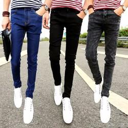 Quần jeans nam ống côn co giãn - QJ9