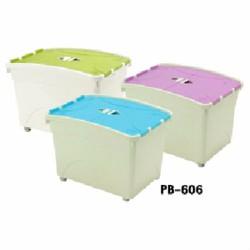 THÙNG NHỰA 65 LIT PB605N Happy ware