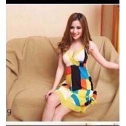 Đầm mặc nhà thời trang sản xuất Việt
