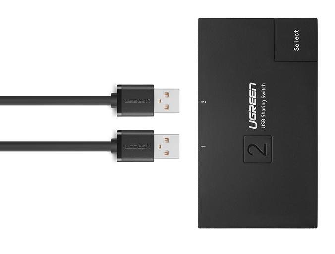 Bộ chia sẻ máy in qua cổng USB 2.0 chính hãng Ugreen - 30345 10