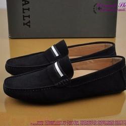 Giày mọi nam da lộn sọc ngang phong cách sành điệu GDNHK122