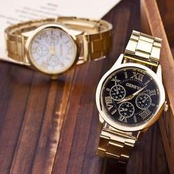 Đồng hồ Geneva - dây kim loại
