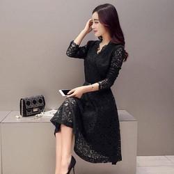 Hàng order: Váy ren cao cấp DS668