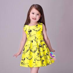 Đầm búp bê Lovely BB-vàng