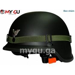 Mũ bảo hiểm cao cấp VIA 08 Lính Đức - Đen nhám - Size M