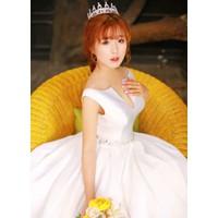áo cuoi trắng tinh khiêt đơn giản
