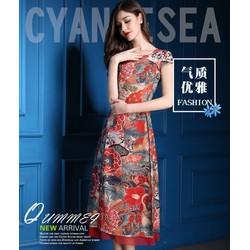 Set áo dài + chân váy – DV2714