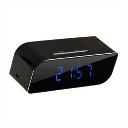 Camera Wifi ngụy trang dạng đồng hồ để bàn, quan sát ngày đêm