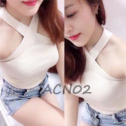 Yếm chéo ngực sexy - Mã SP: ACN02