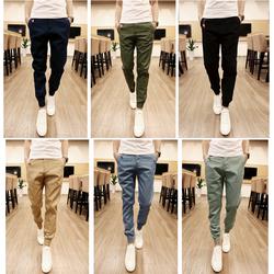 KHUYẾN MÃI SHOCK -quần jogger kaki lưng thun khóa zip nam nữ J555