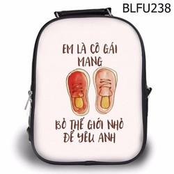Balo Ipad - Học thêm - Đi chơi Em là cô gái mang giày đỏ - SBLFU238