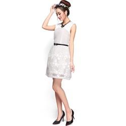Đầm xòe chất liệu ren dệt cao cấp thiết kế độc quyền bởi Ivinci