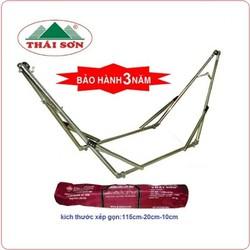 Bộ võng xếp Chấn Thái Sơn ống 32 INOX 201