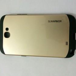 Samsung Note 2 - Ốp lưng slim armor 2 lớp kết hợp PC và Silicone