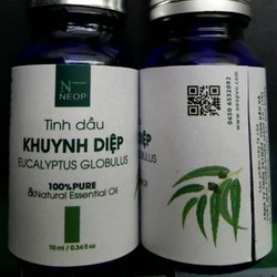 Tinh Dầu Khuynh Diệp NEOP - Eucalyptus Globulus Essential Oil 10ml - TDKD1