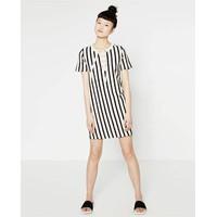 Váy liền kẻ sọc Hãng Zara - Hàng nhập Mỹ
